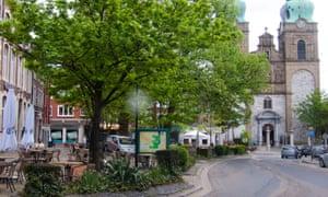 A view of Eupen