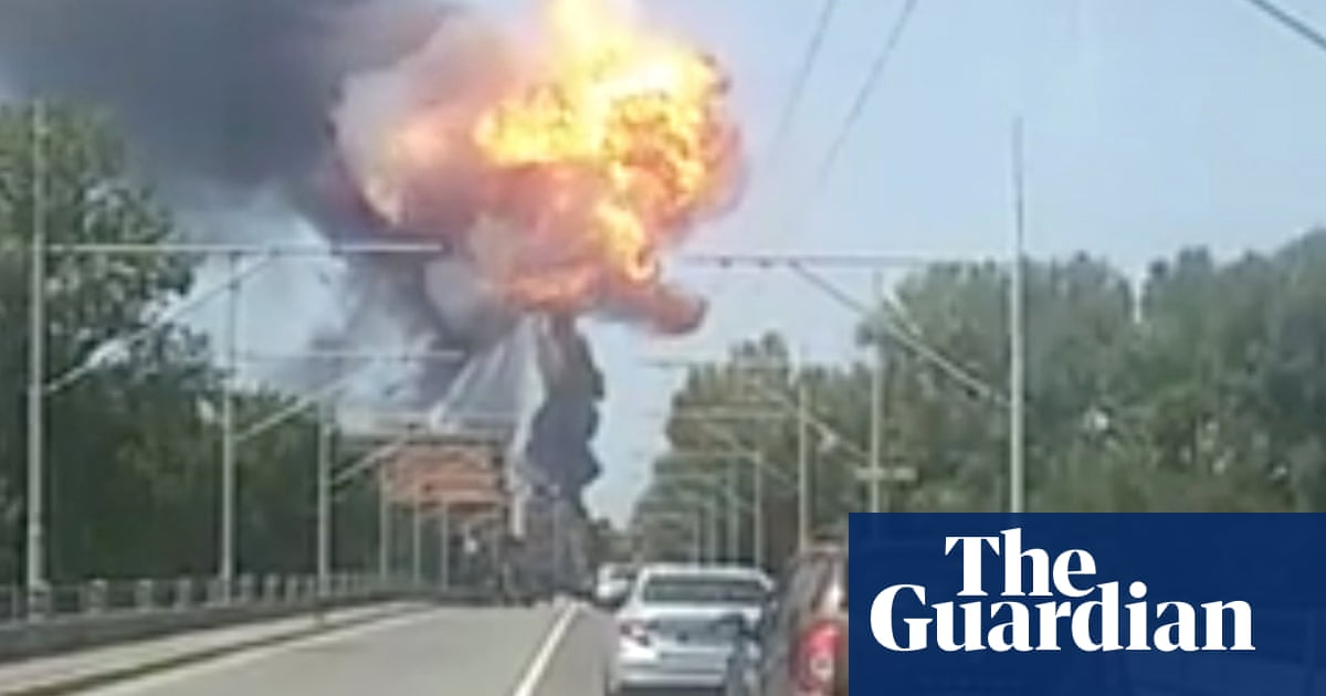 Tanker truck explodes after collision with lorry near Bologna airport