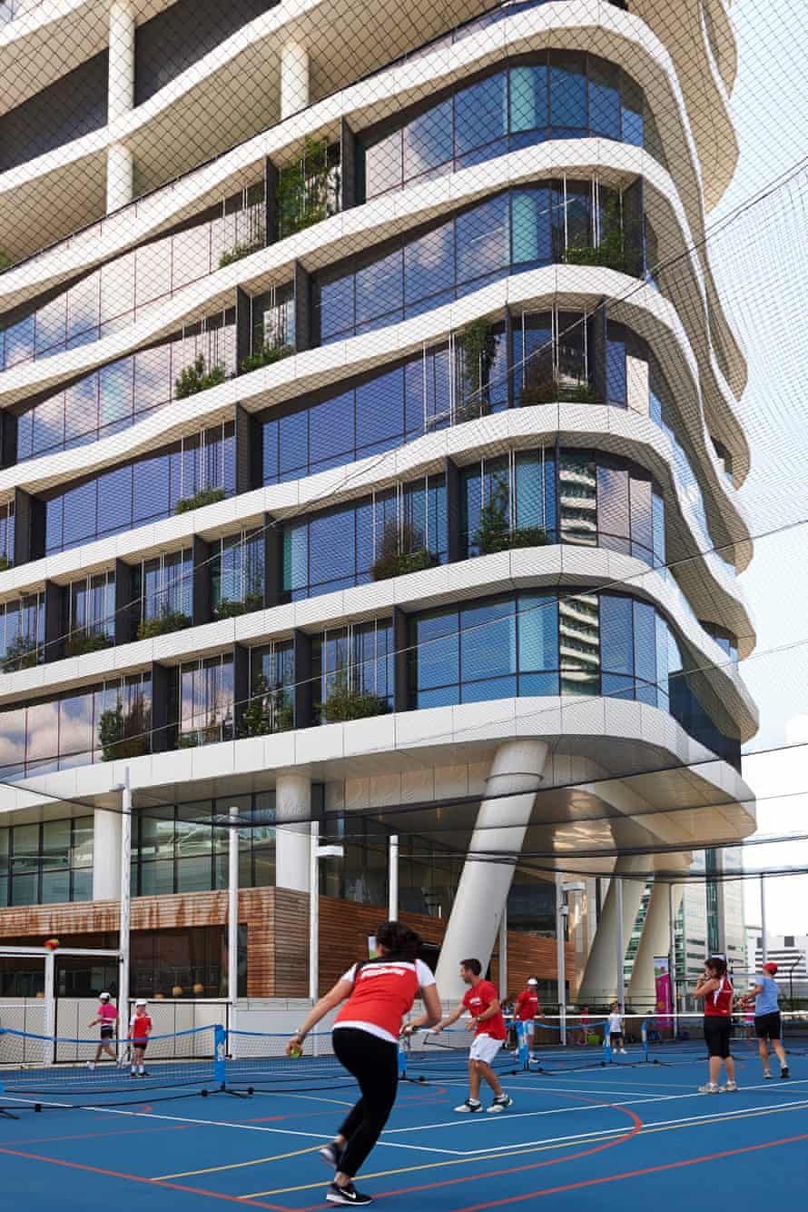 Medibank Place in Melbourne, one of Australia's healthiest buildings