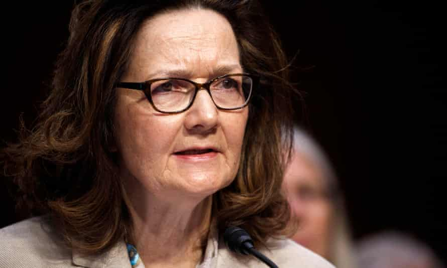 Gina Haspel in Washington DC on 9 May. On a national security issue of such importance, it would be customary for a senior intelligence official to take part.