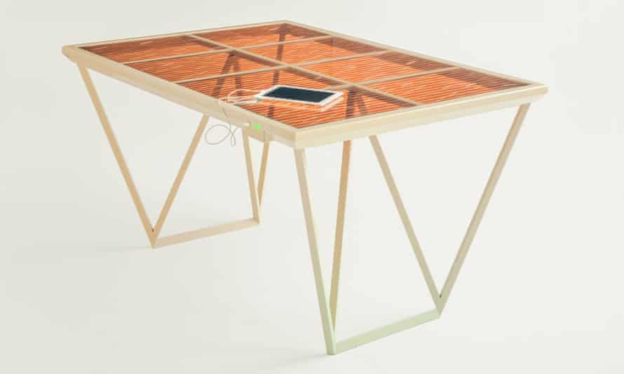 Caventou's Current Table on display at the Royal College of Arts