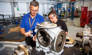 The Advanced Manufacturing Research Centre trains more than 800 apprentices.