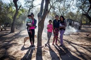 Family in Salta province