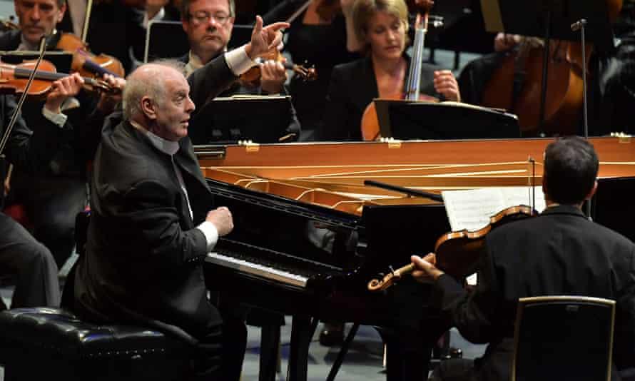 Daniel Barenboim conducts the Staatskapelle Berlin in Prom 69 at the Royal Albert Hall, London