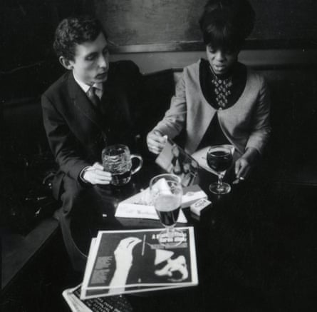 Busby with Clive Allison in 1967, the year they founded their joint publishing company