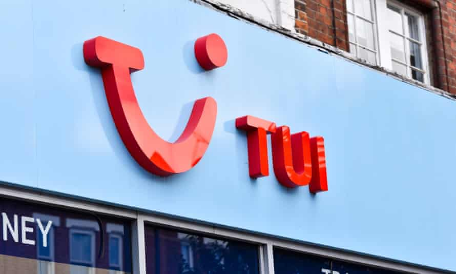 Tui shop front in Wood Green, London
