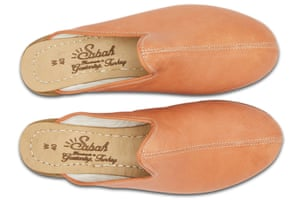 Feet first Designed to last, Sabah slippers are handmade by a family of craftsmen in Turkey. £179, sabah.am