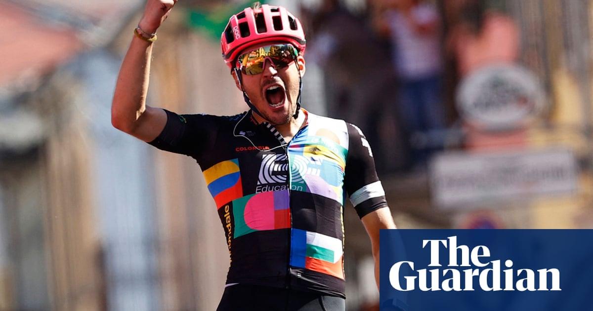 Giro d'Italia: Bettiol storms to maiden success as Bernal retains race lead