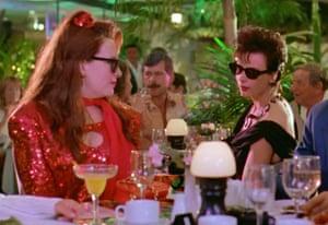Muriel (Toni Collette) and Rhonda (Rachel Griffiths) in Muriel's Wedding