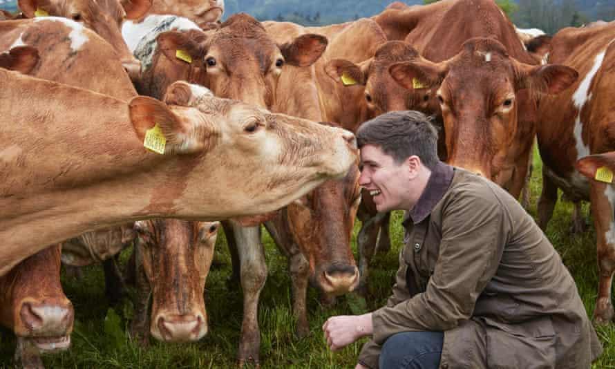 Grant Harrington of Ampersand Dairy.