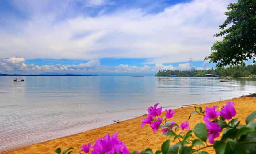 Beach at Ko Chang, Thailand