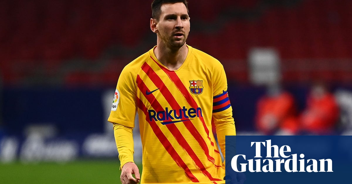 Lionel Messi rested for Barça trip to Kyiv as Koeman bemoans crazy schedule