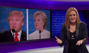 The Daily Show's Samantha Bee.
