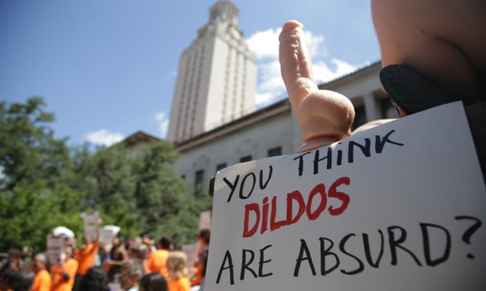 Cocks Not Glocks Texas Students Carry Dildos On Campus To Protest