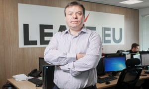 Arron Banks, the co-founder of the Leave.EU campaign