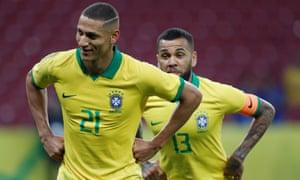 Richarlison has been Brazil's most dangerous player in recent games