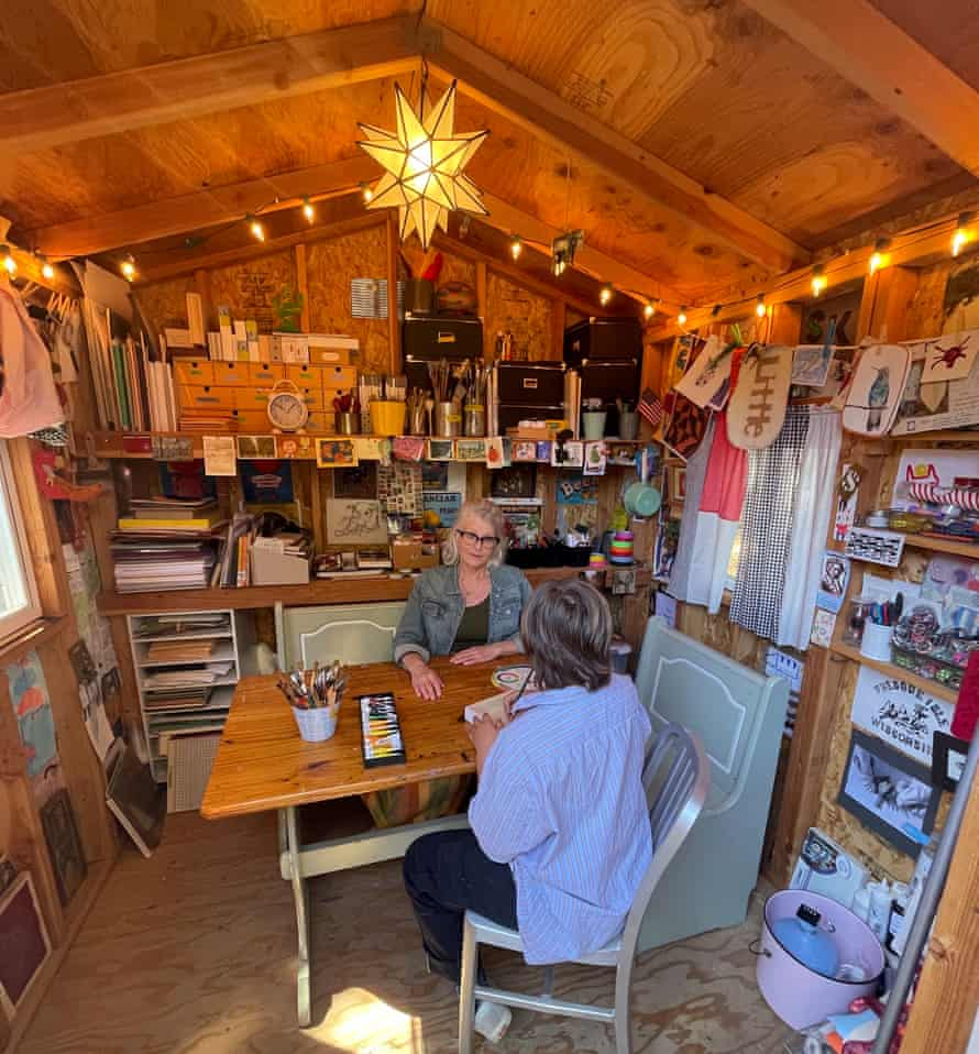 Lori Moore's shed