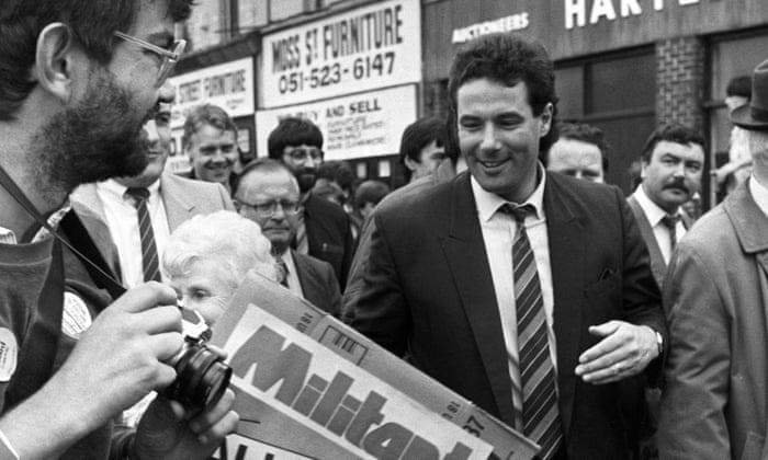 He Did A Lot Of Damage Liverpool Reacts To Return Of Derek Hatton Uk News The Guardian