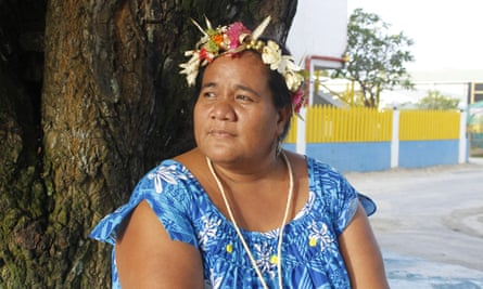 Claire Anterea in Tuvalu