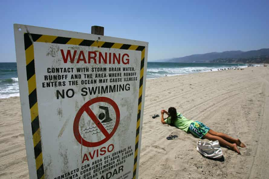 Climate crisis is likely to result in more run-off pollution and sewage overflows onto beaches.