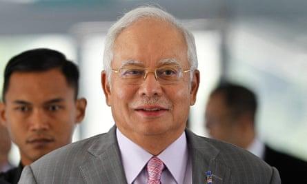 Najib Razak is seeking re-election in May.