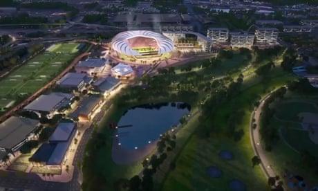 David Beckham's Inter Miami unveil $966m stadium plans – video