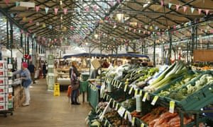 St George's Market in Belfast.