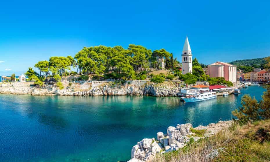 Veli Lošinj, fishing village, Lošinj, Croatia.