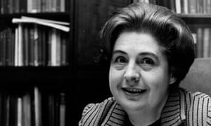 Betty Lockwood in 1970. She served as a deputy speaker in the House of Lords from 1989 to 2007.