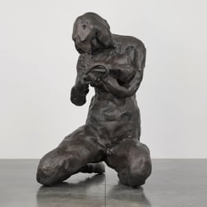 'Munch never had a mother so I'm giving him one' … a model for The Mother, Emin's giant statue to be installed in Oslo harbour by the Munch Museum.