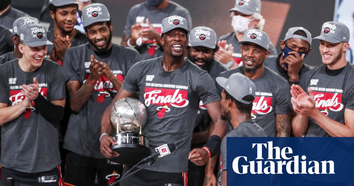 Miami Heat set up NBA finals with Lakers after surging to win over Boston Celtics