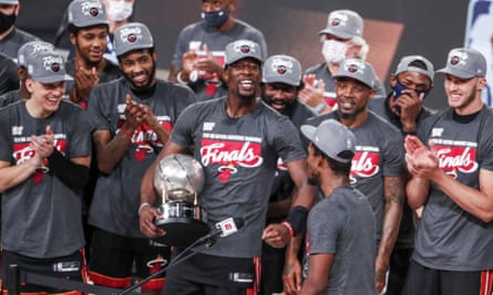 The Miami Heat are going to the NBA finals for the sixth time in 15 years.