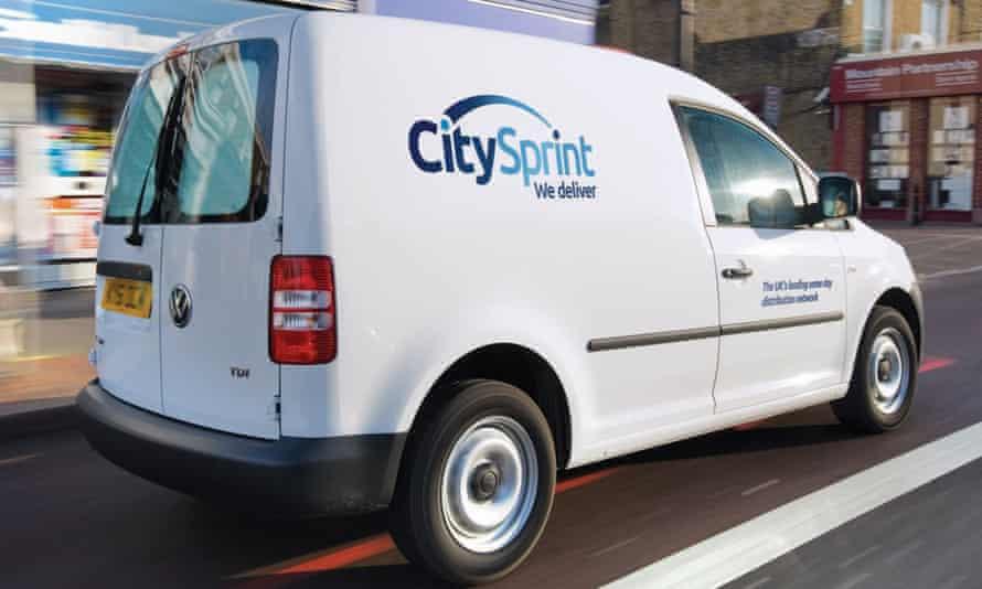 A CitySprint van
