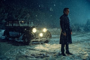 Charlie Manx (Zachary Quinto) in NOS4A2