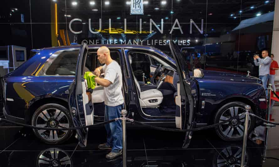 The Rolls-Royce Cullinan SUV