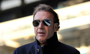 Massimo Cellino at Elland Road in 2014