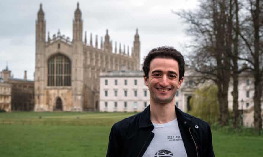 Hasan al-Habib, who is completing a PhD at Cambridge