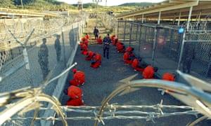 Prisoners in Guantánamo Bay