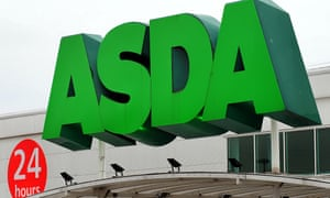 Asda sign on a store