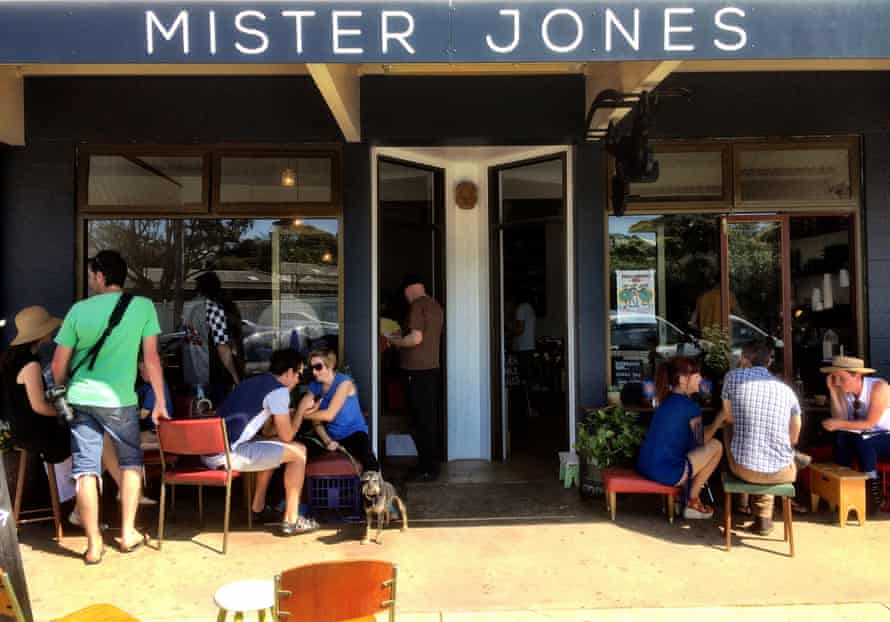Mister Jones cafe in the NSW South Coast town of Bermagui.