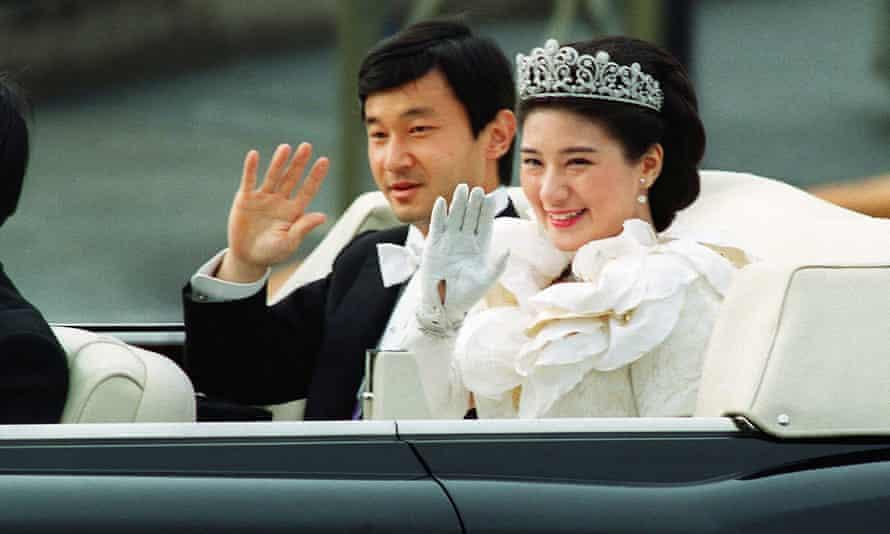 The wedding of Prince Naruhito and Princess Masako in 1993