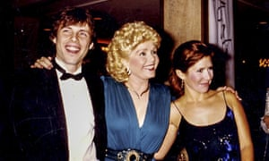 Todd Fisher, Debbie Reynolds and Carrie Fisher.