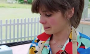 It's become cruel and crushing ... Steph reduced to tears in The Great British Bake Off final.