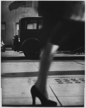 Running Legs, Forty-second Street, New York, 1940-1941Her pioneering street photography, made with with a 35-millimeter camera, primarily in Nice and New York's Lower East Side is characteristically direct and forthright.