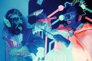 Electromagneto meets Leon neon [Ira Cohen and Jack Smith]