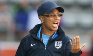 Hope Powell, pictured here in 2013, is the new manager of Brighton & Hove Albion's women's team.