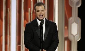 Matt Damon: Mars attacks.