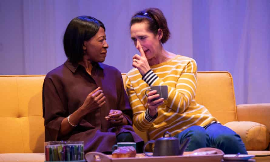 Still dealing with the same problems … Donna Berlin and Rebecca Charles in The Gift.