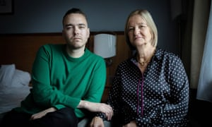 David Challen with his mother Sally