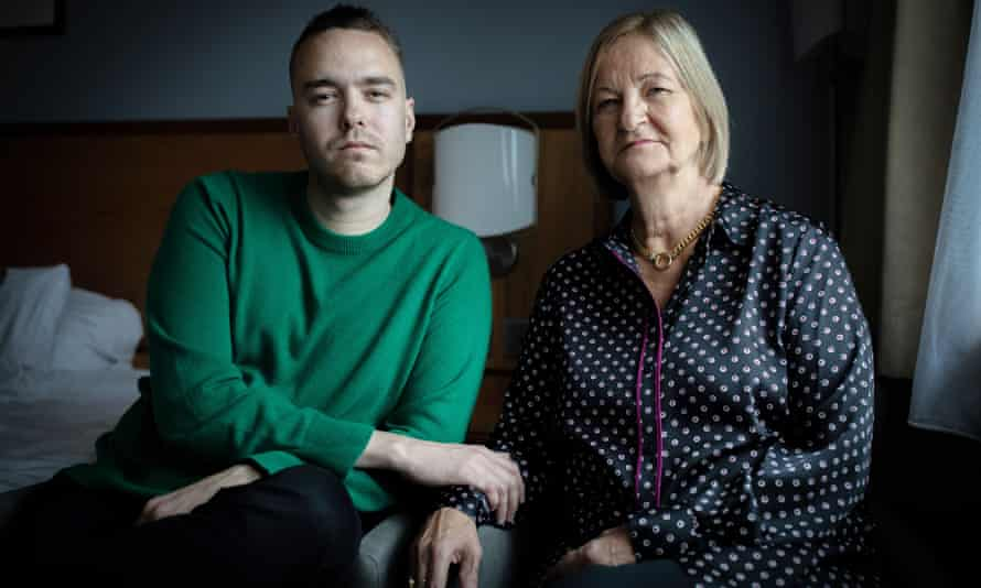 Sally and David Challen, following her release from prison in 2019